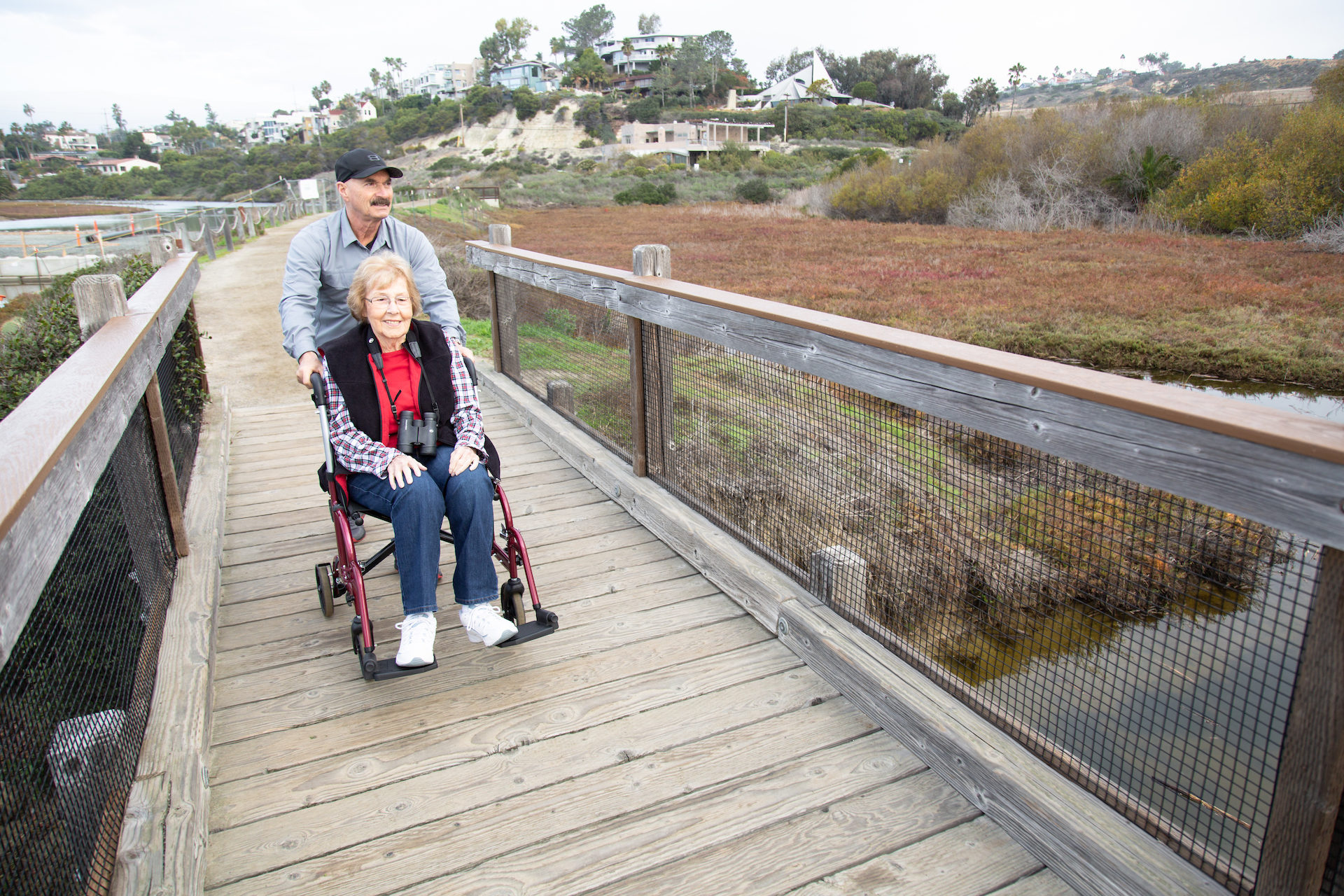 Accessible Trail San Elijo Lagoon
